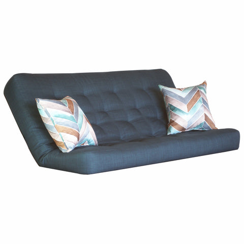 Cassandra Turquoise mattress w/ Hue Azure pillows set