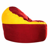 Game Day Lounger- Red & Yellow