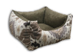 Kaza Natural Bolster Rectangle Bed
