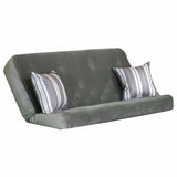 Arabella Pewter mattress w/ Mason Steel Guitar pillows set