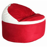 Game Day Lounger-  Red & white