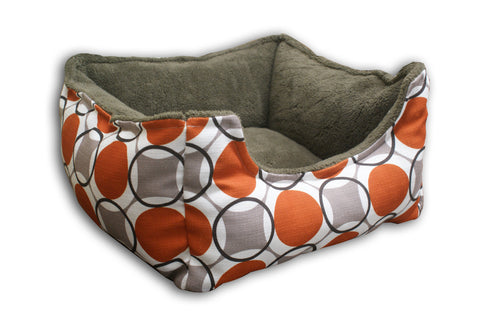 Aura Granite Bolster Rectangle Bed