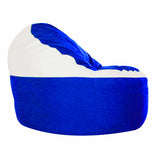 Game Day Lounger- Blue & White