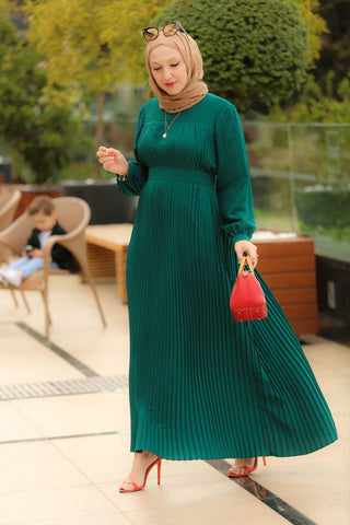 Pileli Modest Dress