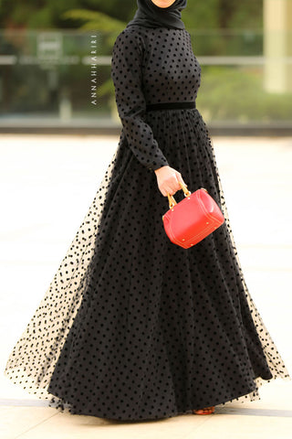 Tulle Polka Dress