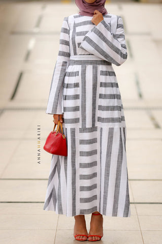 Amal Stripe Dress
