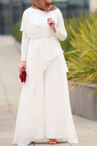 Awesome White Jumpsuit