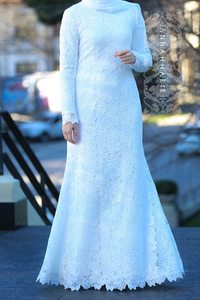 Vera Wedding Dress | abaya dresses – ANNAH HARIRI