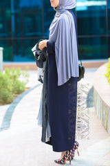 latest abaya patterns