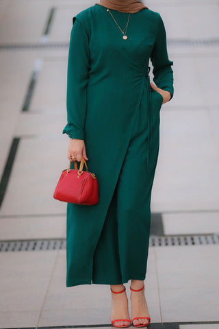 Green Tulum Jumpsuit