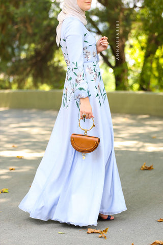 Orchid Modest Dress