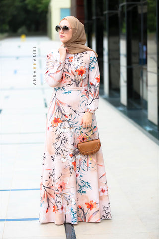 Nabila Modest Dress