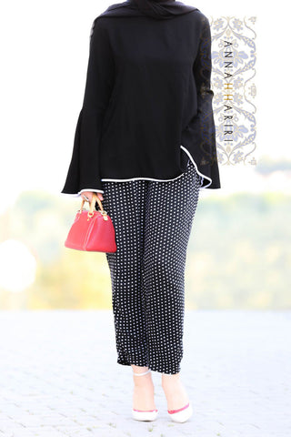 Dotted Trousers Set