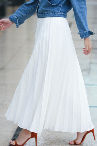 Rain Pleated Skirt
