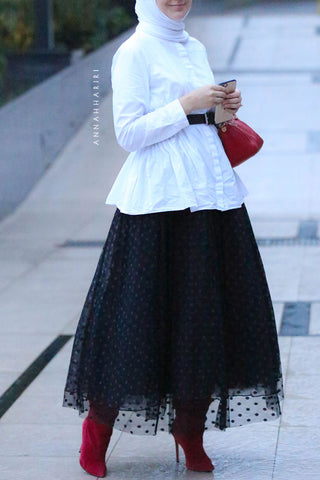 Tulle Dots Skirt