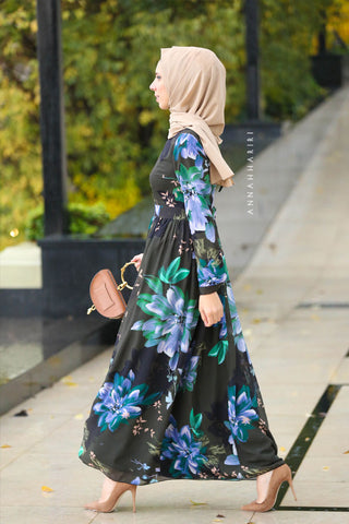Peony Modest Dress