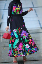 Avantgarde Modest Dress