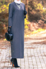 coloured abayas
