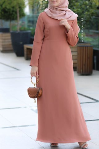 Rustic Modest Dress