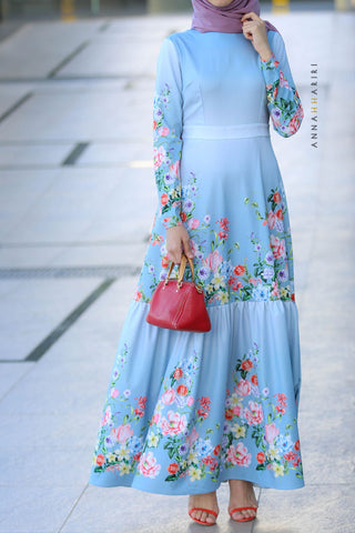 Blooms Modest Dress