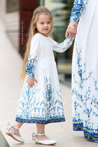 Little Gzhel dress