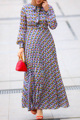Bubbles Modest Dress