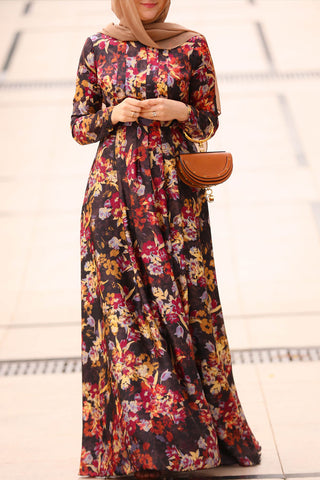 Sonbahar Modest Dress