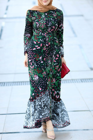 Ilkbahar Modest Dress