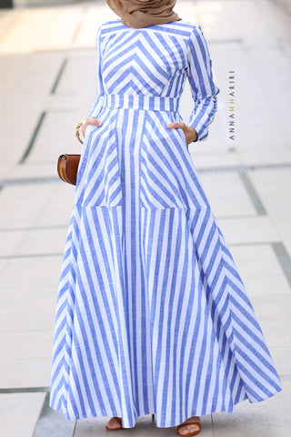 Sailor Modest Dress
