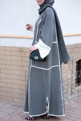 grey abaya uk