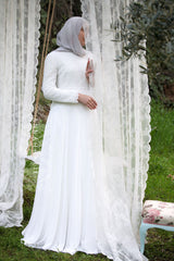 bridal hijab for sale