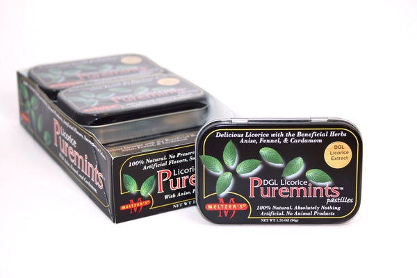 Meltzer's Natural Licorice Puremints