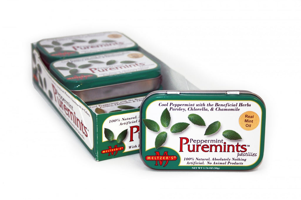 Meltzer's Natural Peppermint Puremints