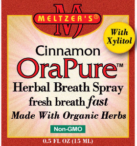 Cinnamon OraPure Herbal Breath Spray