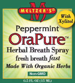 Peppermint OraPure Herbal Breath Spray