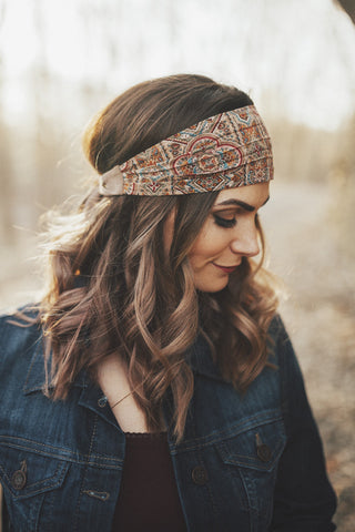 Dusty Boho Tie-Wrap