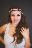 Schoolgirl Sailor's Knot Headband
