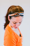 Team Sailor's Knot Headband (with white)