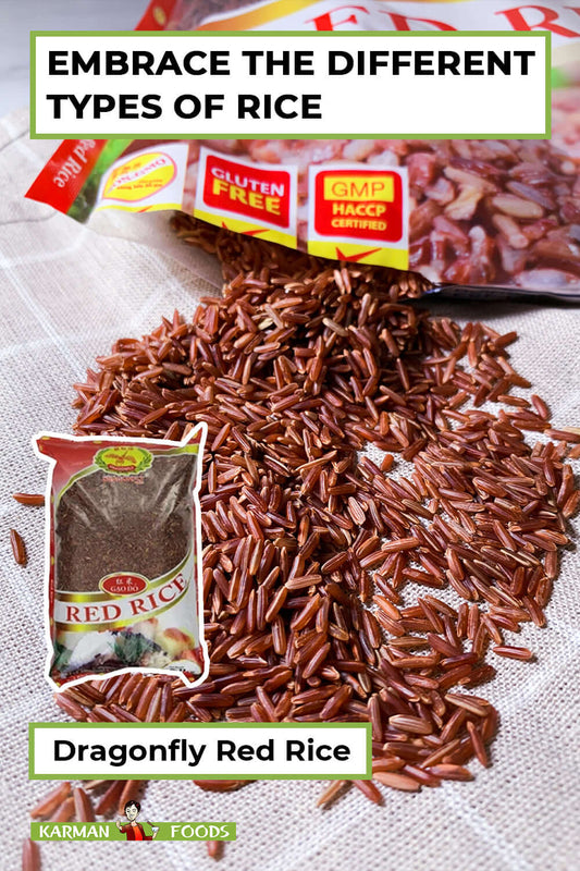 A pack of Dragonfly Red Rice