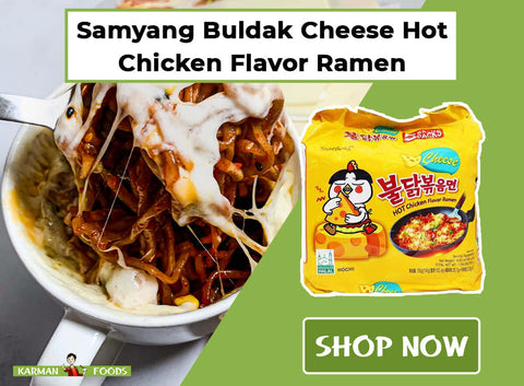 Samyang Spicy Chicken Roasted Noodles in Cheese