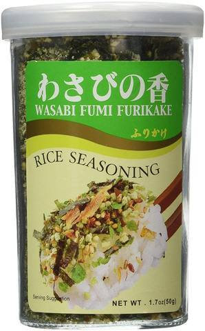 wasabi furikake rice seasoning