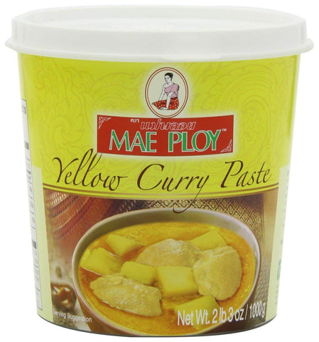 Mae Ploy Yellow Curry Paste - Large - 35 oz.