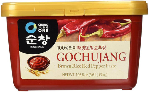 Chung Jung One Gochujang Brown Rice Red Pepper Paste - 6.6 lbs