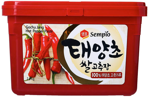 Sempio Hot Gochujang Pepper Paste - 6.1 lbs