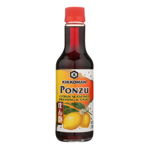 Kikkoman Ponzu Citrus Seasoned Dressing & Sauce - Pack of 12 - 10 fl. oz.