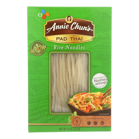 Annie Chun's Original Pad Thai Rice Noodles - Pack of 6 - 8 oz.