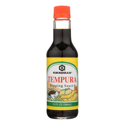 Kikkoman Tempura Dipping Sauce - Case of 12 - 10 oz.