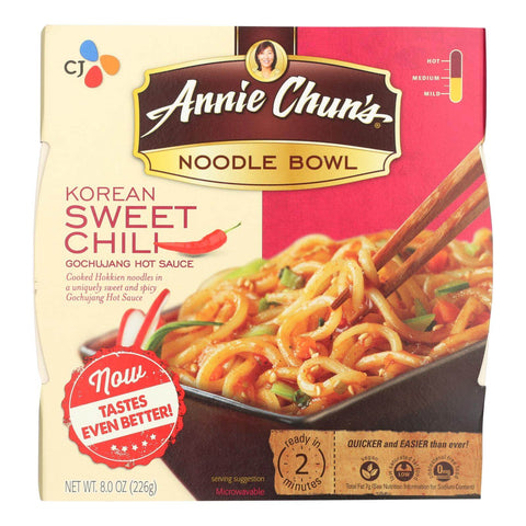 Annie Chun's Korean Sweet Chili Noodle Bowl - Pack of 6 - 5.7 oz.