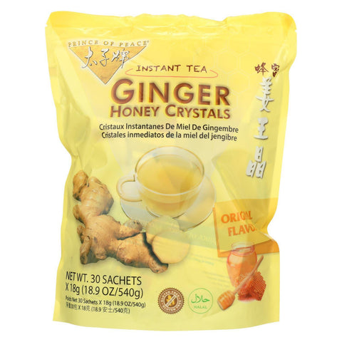 Prince Of Peace Ginger Honey Crystals - 30 Bags