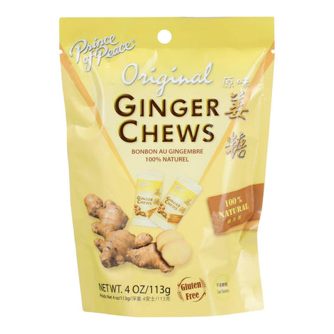 Prince of Peace Ginger Chews - 4 oz.